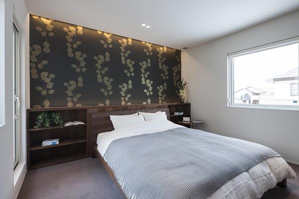 緑に癒される寝室🌳