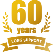 60 years LONG SUPPORT