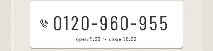 0120-960-955