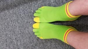 私の靴下ですが・・・